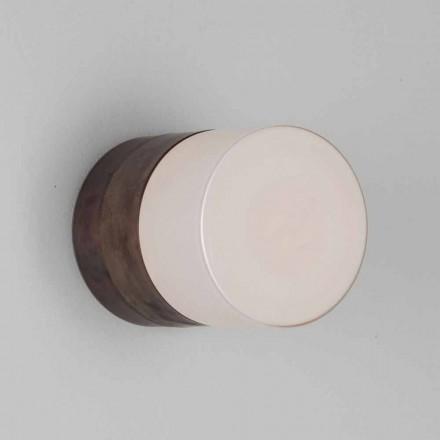 Toscot Chapeau! Lâmpada de parede / teto feita à mão, feita na Toscana