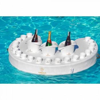 Trona flutuante bar design de couro de imitação de barco e metacrilato