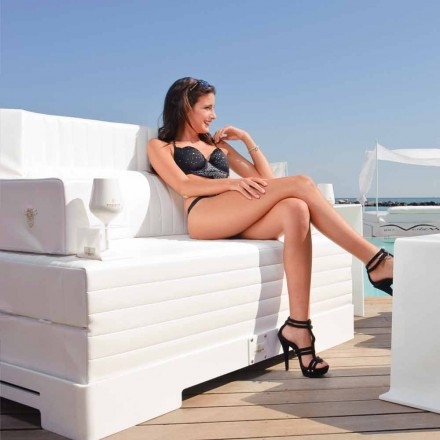 Cadeira de piscina flutuante moderna Magnum Luxury by Trona, design moderno