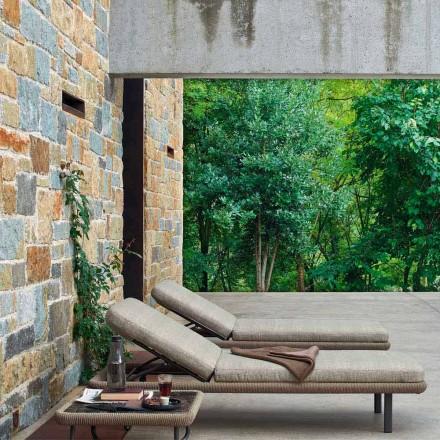 Espreguiçadeira de jardim para uso ao ar livre, design moderno, Babylon by Varaschin