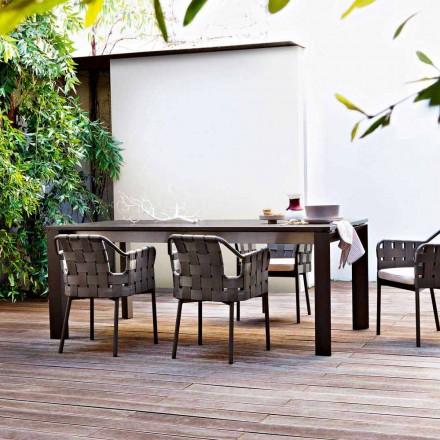 Mesa de jardim extensível, extensível até 380 cm, Dolmen by Varaschin