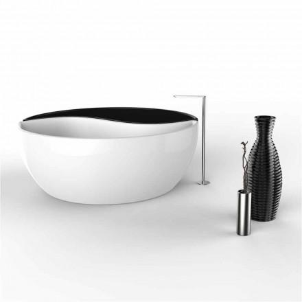 Banheira de Superfície Sólida de design moderno Banheira Tao, fabricada na Itália
