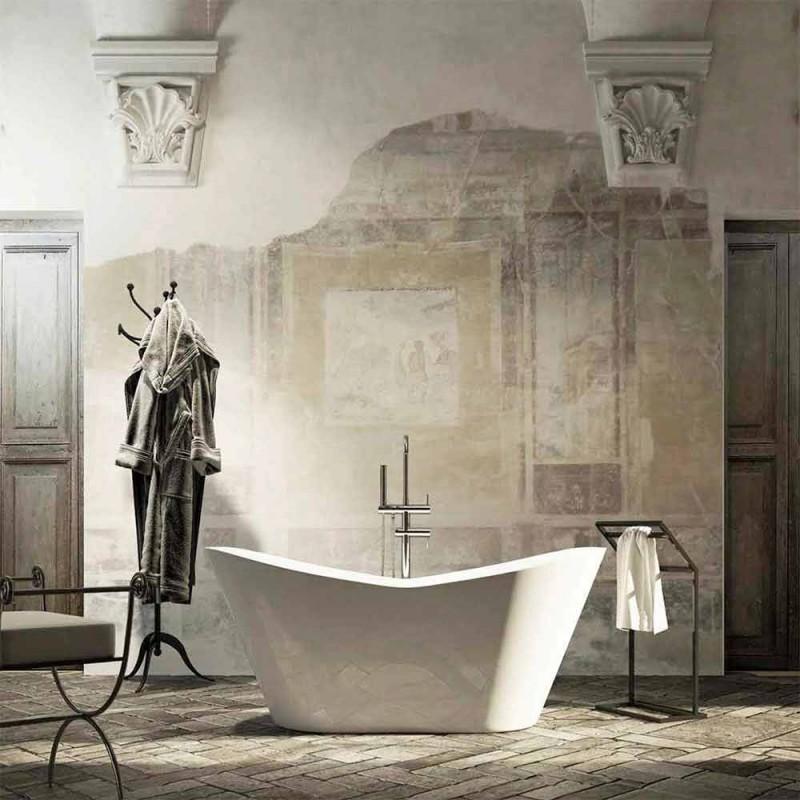 Design moderno banheira autônoma feita na Itália Ragusa