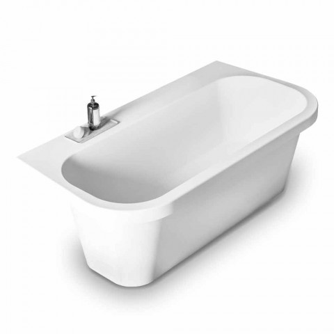 Branco brilhante / Matt branco permanente e Made in Italy Tub - Margex