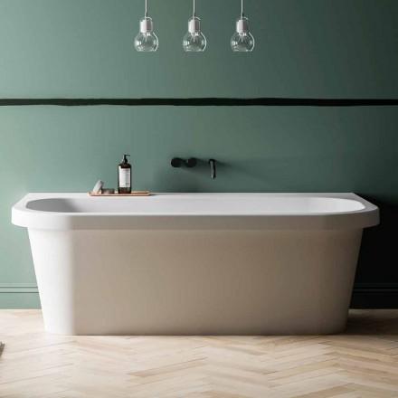 Banheira de pé livre brilhante / Matt White e Made in Italy - Margex