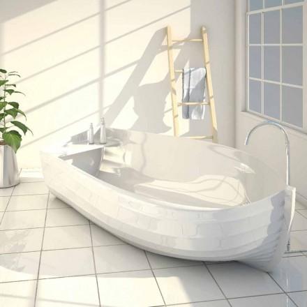 Banheira de design moderno feita inteiramente em Itália Oceano