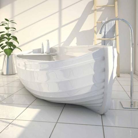 Banheira de designer em forma de barco Ocean Made in Italy