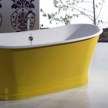 Banheira autônoma colorido ferro design moderno Betty