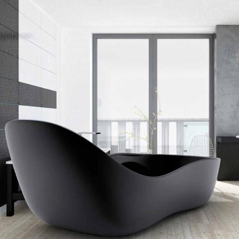 Banheira autônoma lacada, design moderno, Wave