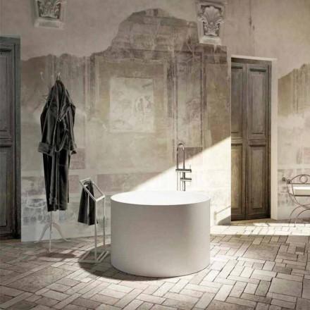 Banheira autônoma design redondo produzido 100% na Itália, Cremona