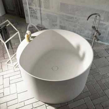 Banheira autônoma design redondo feito na Itália Cremona