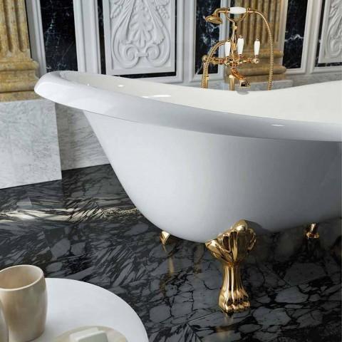 Banheira autônoma de design clássico feita na Itália, Fregona
