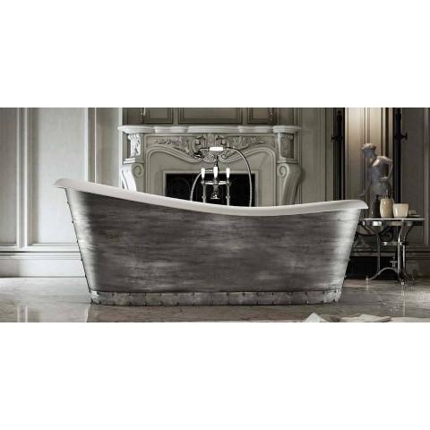 Banheira de resina autônoma de design moderno feita na Itália, Furtei