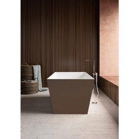 Banheira de Pé Livre, Exterior Brilhante de Dois Tons ou Matt - Filo