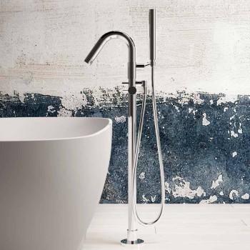 Banheira de pé livre moderna, design de superfície sólida - Link