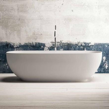 Banheira moderna sem pé, design em superfície sólida - Link