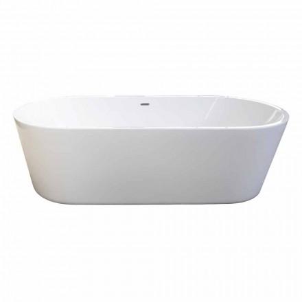 Nicole 2 design moderno branco banheira autônoma 1785x840mm
