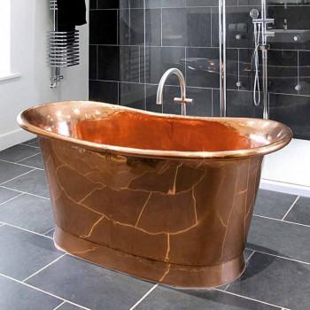 Projeto de banho autoportante Peggy cobre brilhante