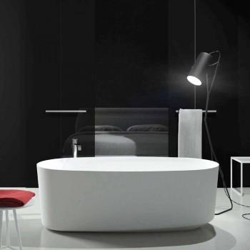 Banheira de design monobloco autoportante produzida na Itália, Dongo