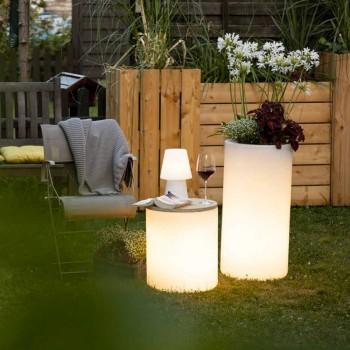 Vaso com iluminação de jardim ou design moderno colorido da sala de estar - Cilindrostar