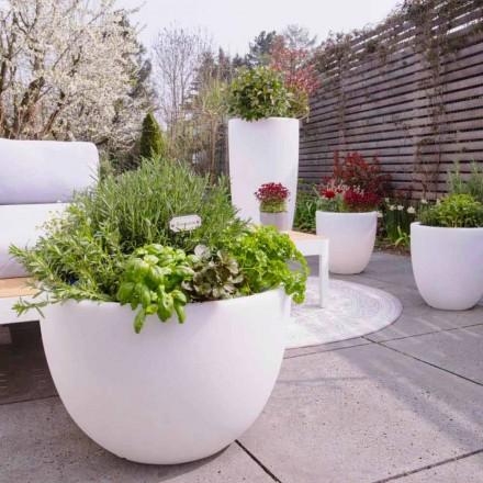 Vaso com Iluminação Led ou Solar Design Moderno de Vários Tamanhos - Svasostar