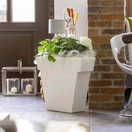 Vaso decorativo para exterior / interior de design moderno Slide Il Vaso
