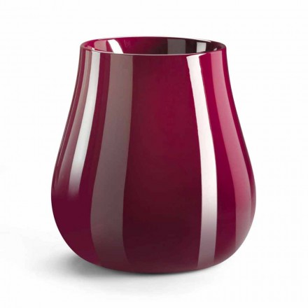 Vaso decorativo em polietileno fabricado na Itália - Monita
