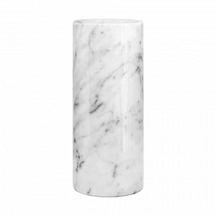 Vaso decorativo de mármore branco de Carrara fabricado na Itália Design - Nevea