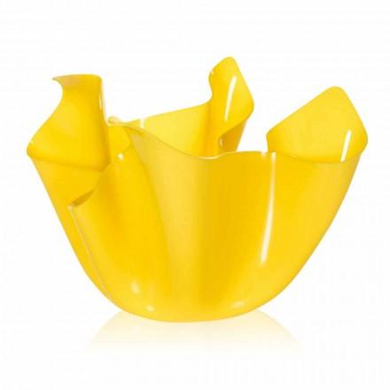 Design moderno pina para exterior / interior Pina, acabamento amarelo, fabricado em Itália