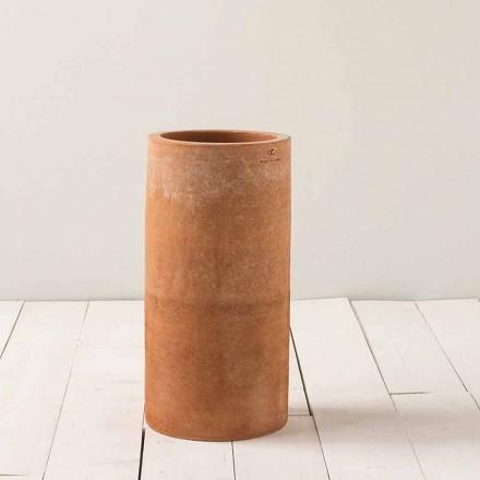Vaso moderno ao ar livre em argila H 50cm Tirrenia - Toscot