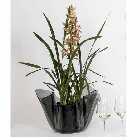 Fumé ao ar livre / vaso interior com um design moderno Pina, made in Italy