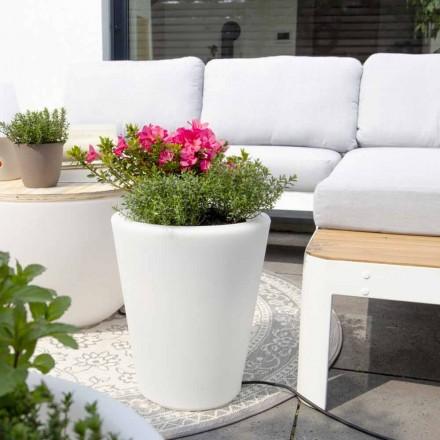 Vaso luminoso para exteriores e interiores, design colorido em 3 dimensões - Vasostar