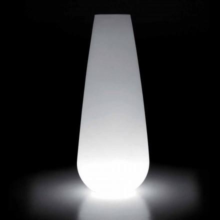 Vaso Luminoso para Design Exterior em Polietileno Fabricado na Itália - Menea