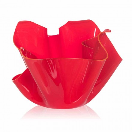 Design moderno pina ao ar livre / interior pina, acabamento vermelho, feito na Itália