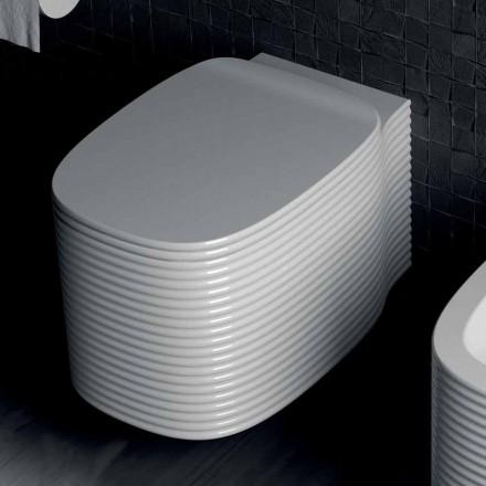 Vaso suspenso de design moderno em cerâmica feita na Itália, Amleto