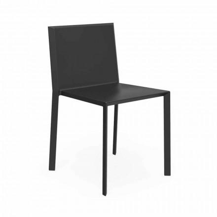 Cadeira empilhável exterior de quartzo Vondom, design moderno, 4 pedaços