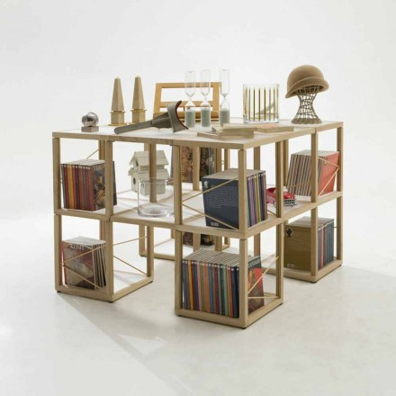 Estante de design modular Zia Babele I Castelli 7