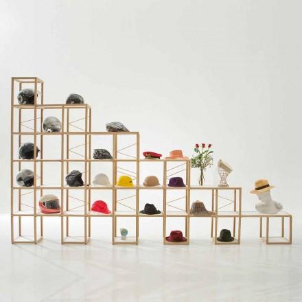 Estante de design modular Zia Babele I Castelli 8