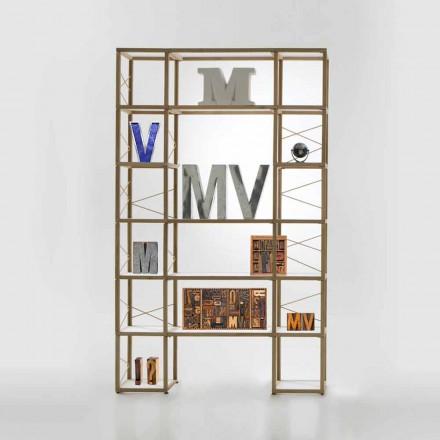 Estante de design modular Zia Babele I Castelli 10