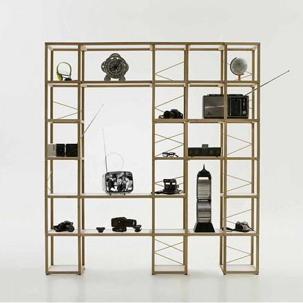 Estante de design modular Zia Babele I Castelli 12