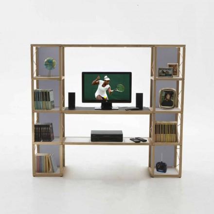 Estante de design modular Zia Babele I Castelli 5