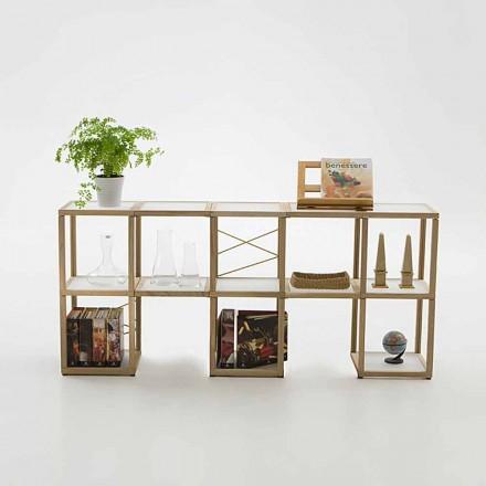 Estante de design modular Zia Babele I Castelli 1
