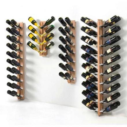 Porta-garrafas de parede dupla face Zia Gaia